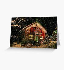 Gingerbread House : Butchart Gardens Greeting Card