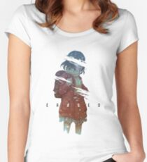 Erased Women's Fitted Scoop T-Shirt
