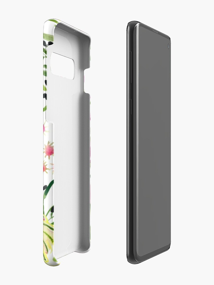 Alternate view of Protea Bloom Floral Case & Skin for Samsung Galaxy