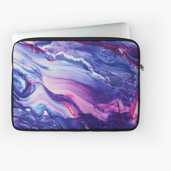 Tranquil Swirls Hybrid Painting Laptop Sleeve