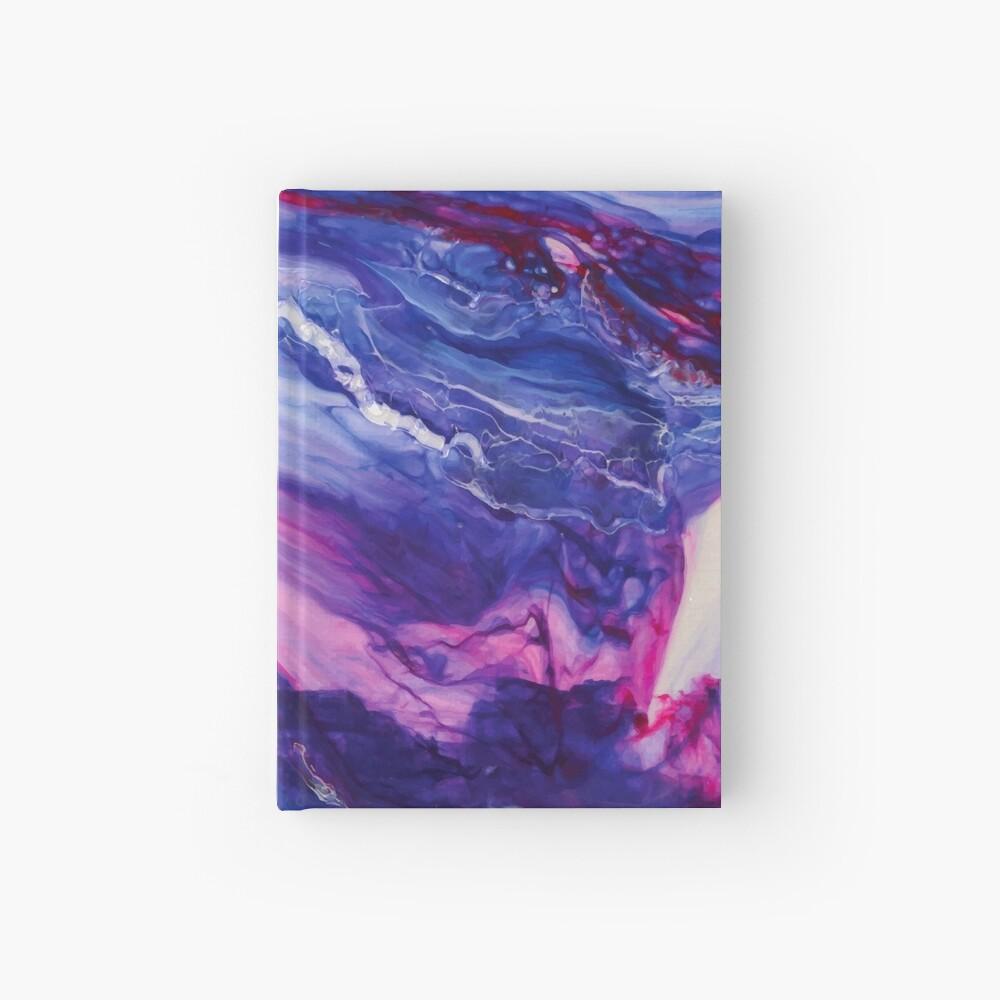 Tranquil Swirls Hybrid Painting Hardcover Journal