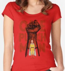 ONE PUNCH Women's Fitted Scoop T-Shirt