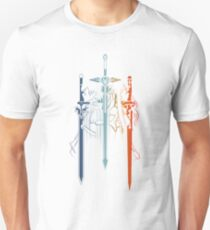 Kirito and Asuna form Sword Art Online Unisex T-Shirt