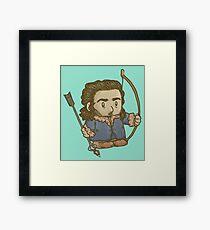Bard the Tiny Dragon Slayer Framed Print