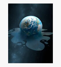 Melting Earth Photographic Print