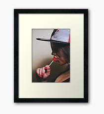 LOLLY POP Framed Print