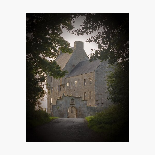 Lallybroch - Midhope Castle Photographic Print