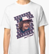 Dustin can't resist those pearls Classic T-Shirt