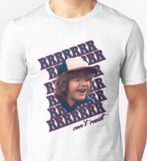 Dustin can't resist those pearls Unisex T-Shirt