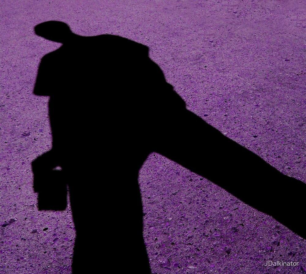 purple shadow by JDalkinator