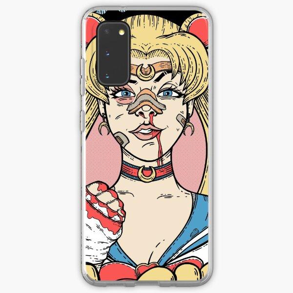 Sailor Moon- Fight Like a Girl Samsung Galaxy Soft Case