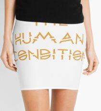 Die menschliche Verfassung Minirock