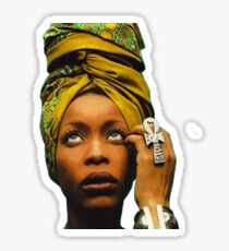 Ms. Badu Sticker