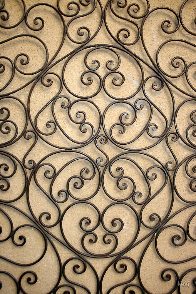 wrought iron  by keki