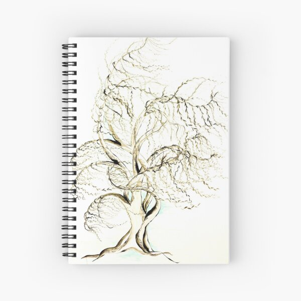 Restless Willow2 Spiral Notebook