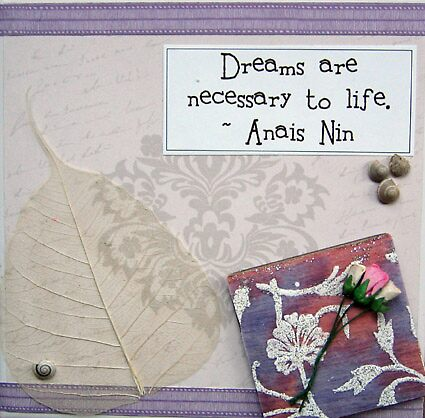 Dreams - Anais Nin by evapod