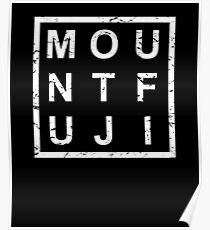 Stylish Mount Fuji Poster