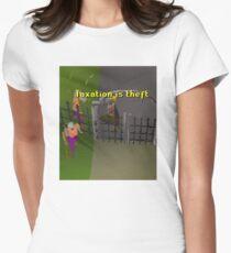 Runescape Taxation is theft Women's Fitted T-Shirt