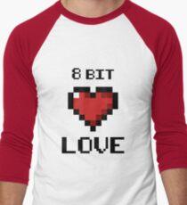 8bit love Men's Baseball ¾ T-Shirt