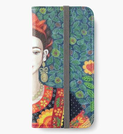 Frida, queen of Hearts iPhone Wallet