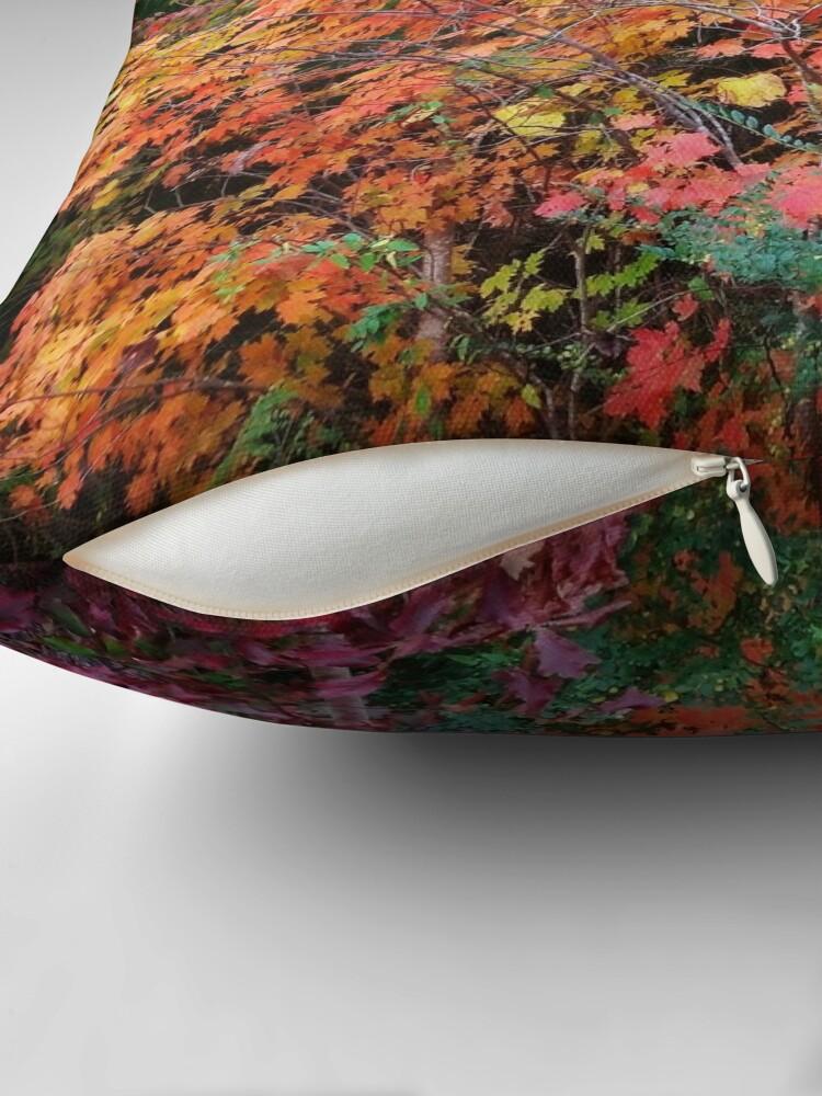 Alternate view of Autumn's Vibrancy Throw Pillow