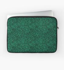 Green Glitter Pattern Laptop Sleeve