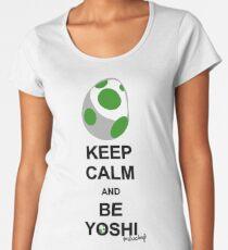 Keep calm and be Yoshi Women's Premium T-Shirt