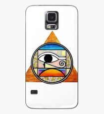 Symbol of Egypt (Colored) Case/Skin for Samsung Galaxy