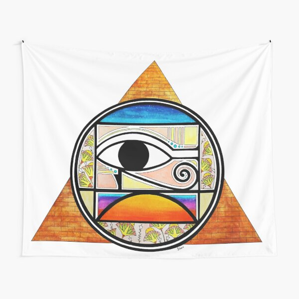 Symbol of Egypt (Colored) Tapestry