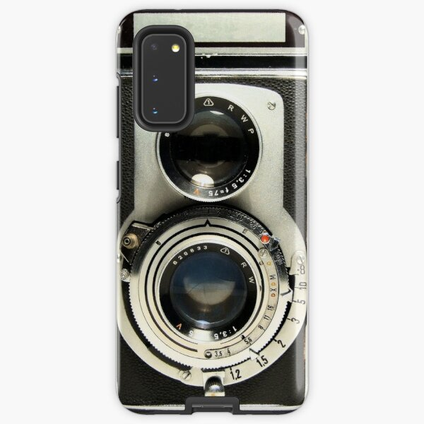 Retro Camera Samsung Galaxy Tough Case