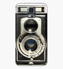 Retro-Kamera Hülle & Klebefolie für Samsung Galaxy