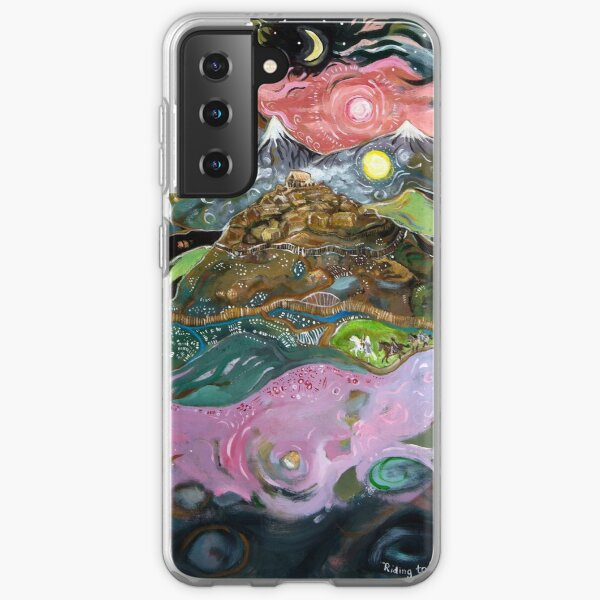 Riding to Rohan Samsung Galaxy Soft Case
