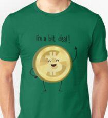 Bit Deal! version 2 (Black text) Unisex T-Shirt