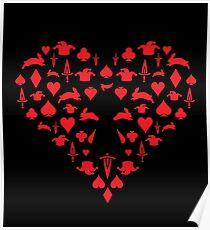 Alice/Heartless Design Poster