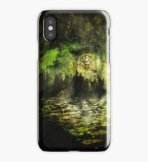 The Walls of Moria (The riddle upon the door) iPhone Case