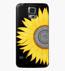 Mandala Sunflower Case/Skin for Samsung Galaxy