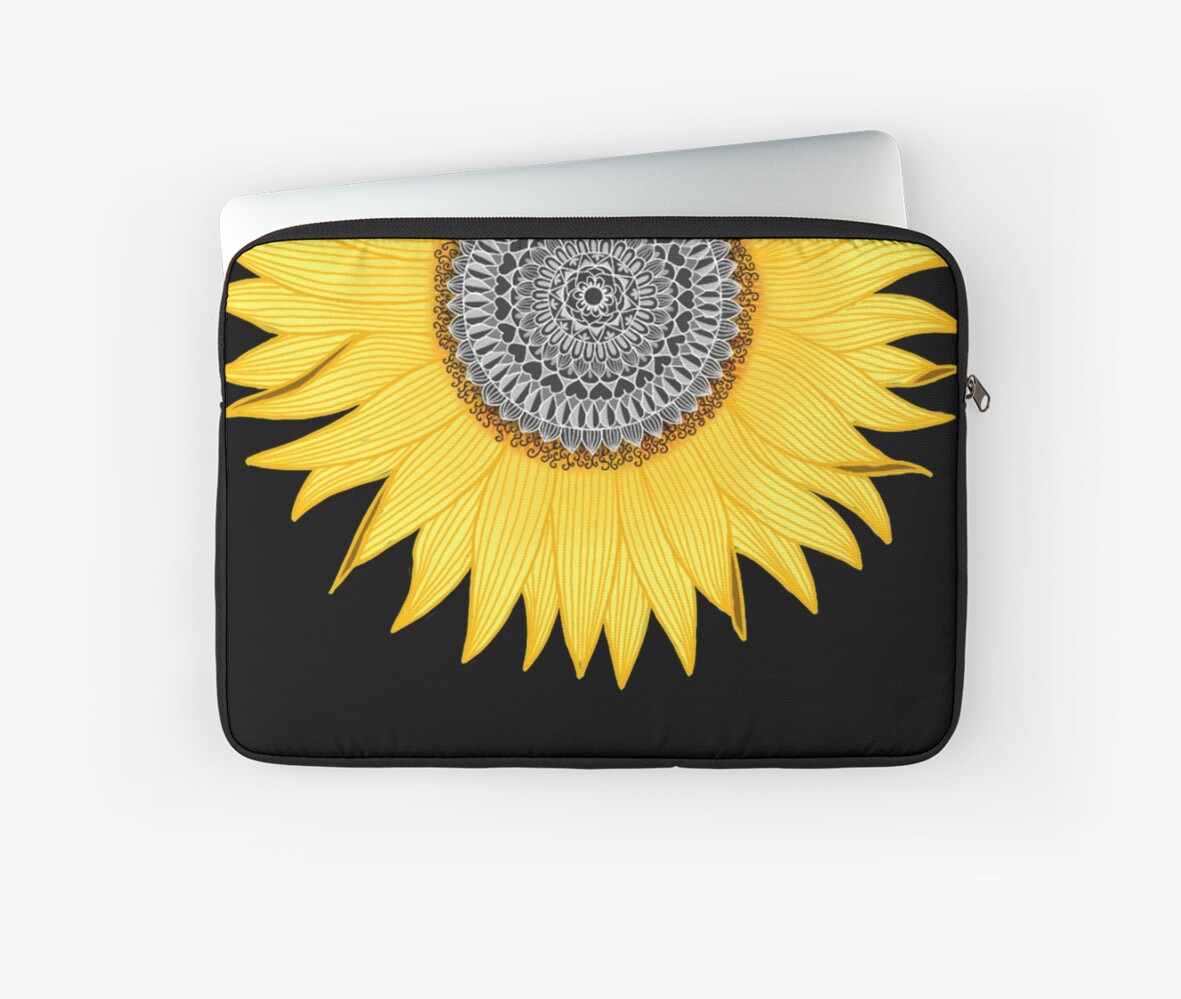 Mandala Sunflower by paviash