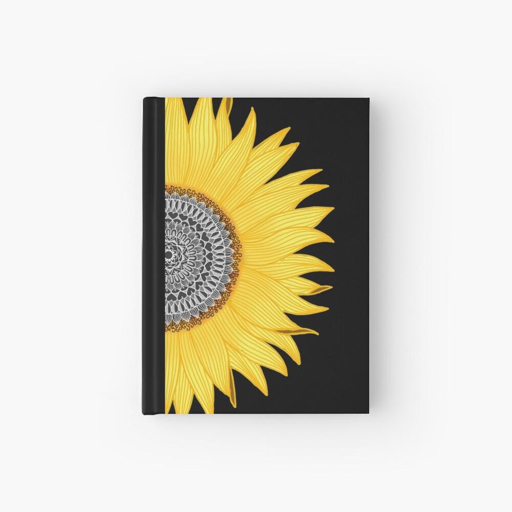 Mandala Sunflower Hardcover Journal