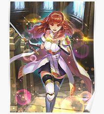Celica - Fire Emblem Echoes Poster