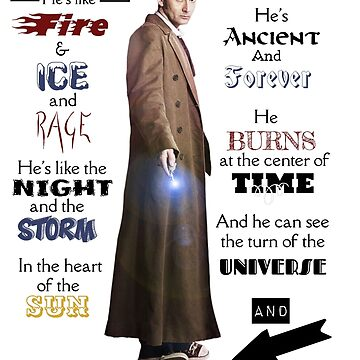 10th Dr. Who Quote by Sassenach616