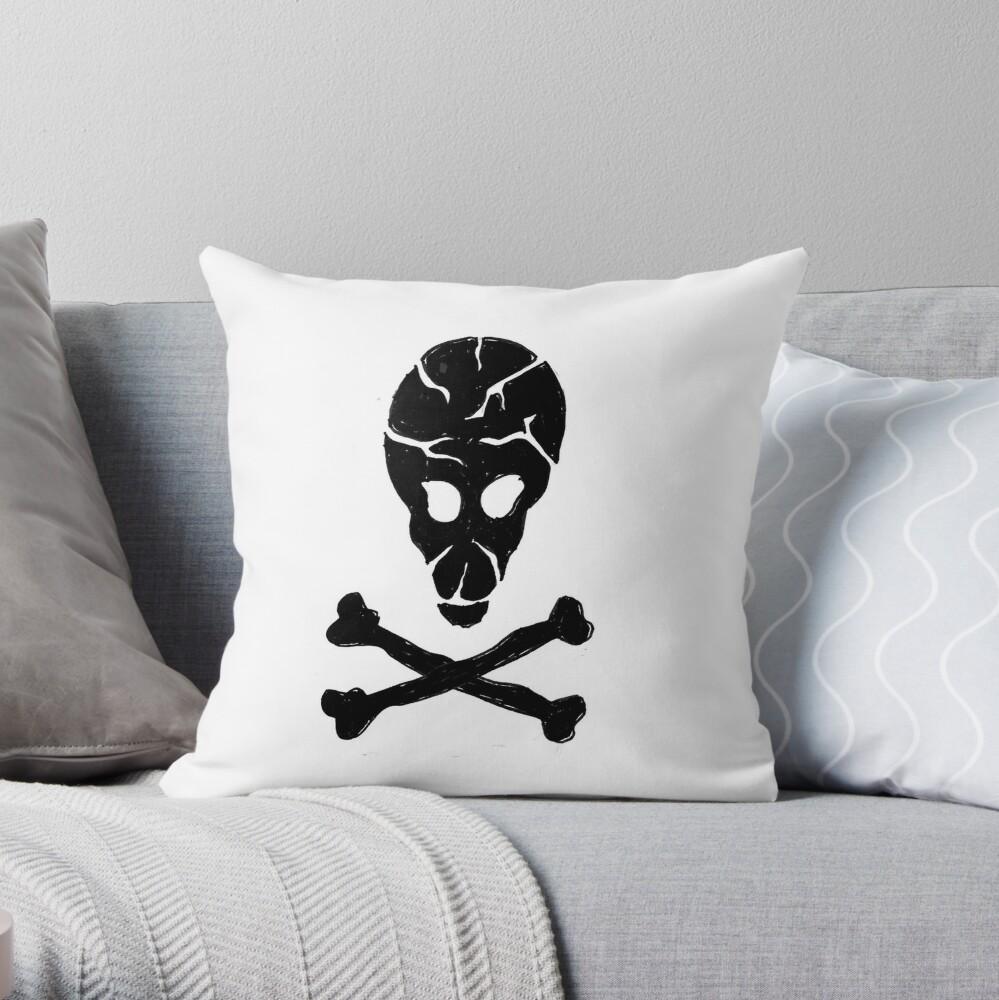 Communist Space Pirates Throw Pillow