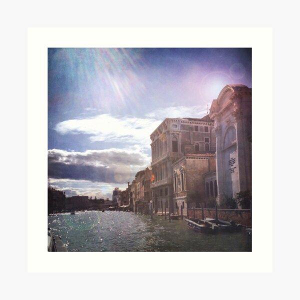 Canale Grande, Venedig Kunstdruck