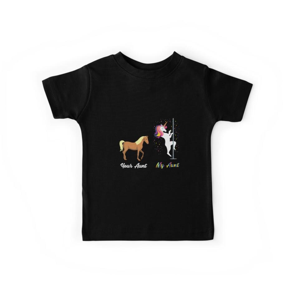 Deine Tante Meine Tante Niedliches Pferdeeinhorn von Michael Clarke