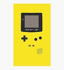 Yellow Nintendo Game Boy Photographic Print
