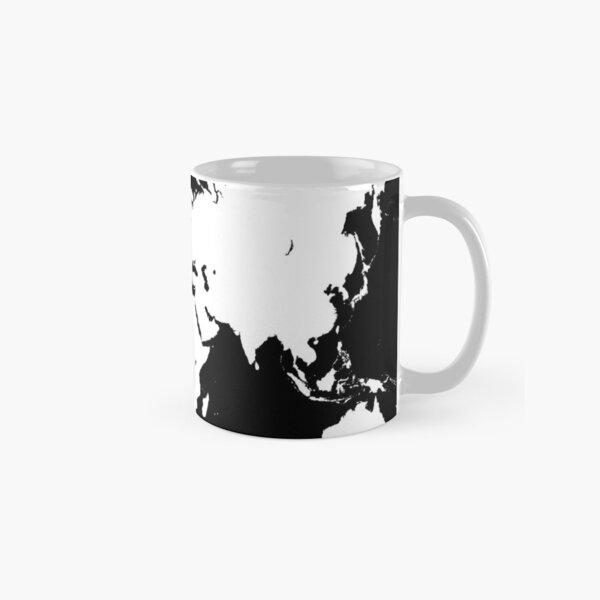 Design 69 world map Classic Mug