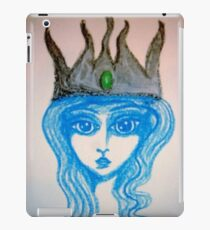 Blue Queen iPad Case/Skin