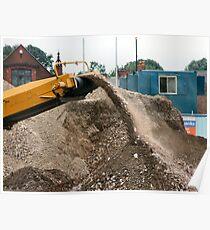 Concrete, brick crusher Poster
