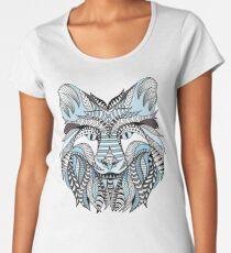 Winter wolf Women's Premium T-Shirt