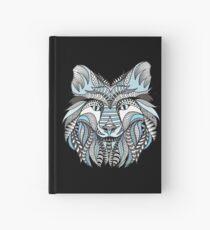 Winter wolf Hardcover Journal