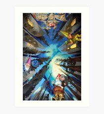 The Sistine Chapel, Revisited Art Print